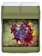 Flower - Garden Joy - Luther Fine Art Duvet Cover