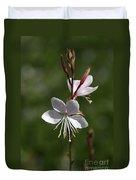Flower-gaura-white  Duvet Cover