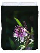 Flower-hebe  Duvet Cover
