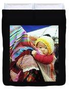 Flower Hmong Baby 04 Duvet Cover