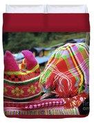 Flower Hmong Baby 05 Duvet Cover