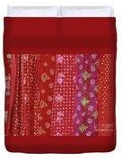 Flower Hmong Velvet Duvet Cover