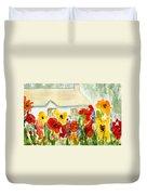 Flower House Duvet Cover