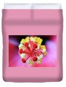 Flower In Pink Duvet Cover