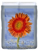 Flower In Water Duvet Cover