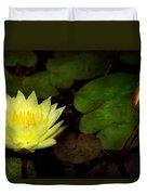 Flower - Lily - Morning Showers Duvet Cover