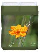 Flower Lit By The Sun's Rays Duvet Cover