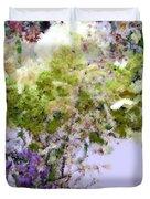 Flower Market Ile De La Cite Duvet Cover