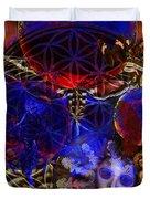 Flower Of Creation  Duvet Cover