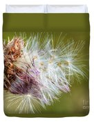 Flower Of The Canada Thistle Duvet Cover