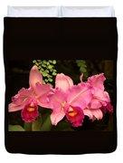 Flower - Orchid -  Cattleya - Magenta Splendor Duvet Cover