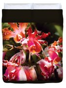 Flower - Orchid - Oncidium Orchid - Eye Candy Duvet Cover