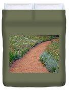 Flower Path Duvet Cover