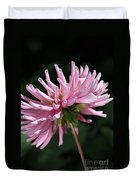 Flower-pink Dahlia-bloom Duvet Cover