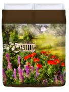 Flower - Poppy - Piece Of Heaven Duvet Cover