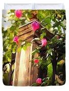 Flower Post Duvet Cover