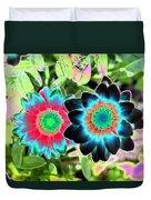 Flower Power 1449 Duvet Cover