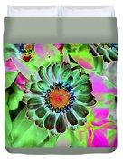 Flower Power 1454 Duvet Cover