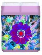 Flower Power 1458 Duvet Cover