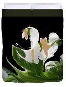 Flower Power Abstract Duvet Cover