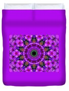 Flower Power Duvet Cover by Kristie  Bonnewell