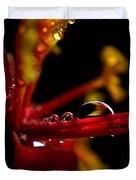 Flower Reflections Duvet Cover