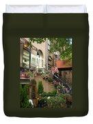 Flower Shop Duvet Cover