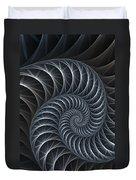 Flower Spiral Duvet Cover