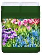 Flower Splash I Duvet Cover
