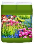 Flower Splash II Duvet Cover