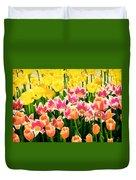 Flower Splash Ix Duvet Cover