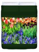 Flower Splash V Duvet Cover