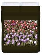 Flower Splash Vi Duvet Cover