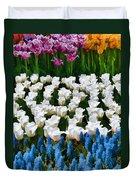 Flower Splash X Duvet Cover