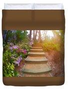 Flower Steps Duvet Cover