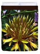 Flower - Sultry Dahlia - Luther Fine Art Duvet Cover