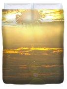 Flower Sun Duvet Cover