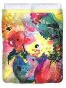 Flower Symphony 03 Duvet Cover