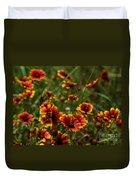 Texas Indian Blanket -  Luther Fine Art Duvet Cover