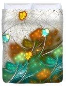 Flower Wind Duvet Cover