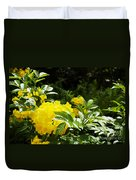 Flower - Austin Botanical Gardens -  Luther Fine Art Duvet Cover