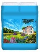 Flowered Garden Duvet Cover
