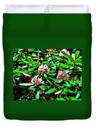 Flowered Tree Duvet Cover