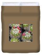 Flowering Cactus Duvet Cover