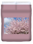 Flowering Cherry Tree Duvet Cover