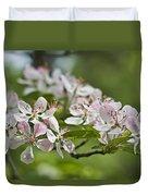 Flowering Crabapple 2 Duvet Cover