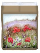 Flowering Field Duvet Cover
