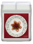 Flowering Fruits Duvet Cover