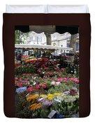 Flowermarket - Tours Duvet Cover