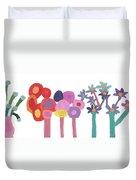 Flowers 1 Duvet Cover by Don Larison